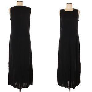 Misook black maxi dress